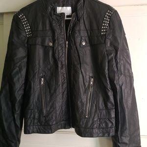 Pleather coat
